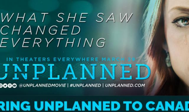 Bring Unplanned to Canada
