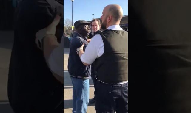"""Don't take my Bible away!"" Street preacher arrested in London"